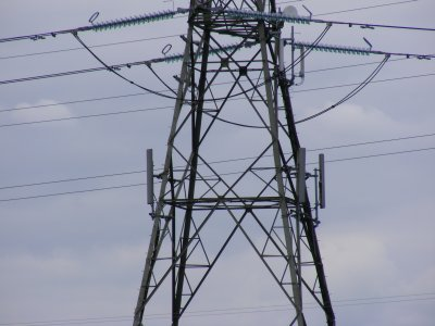 Cellphone mast on a Pylon